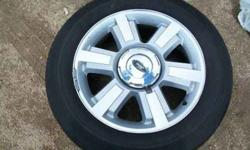 "$750 20"" Tire And Rims Off 2006 F150 Six Lug Fairly Good"