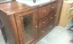 $750 Beautiful dining set with buffet