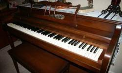 $750 Beautiful Henry F Miller Piano