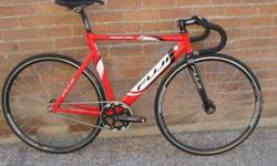 $750 Fuji Track Pro bike - Near New 54cm + Light & FAST