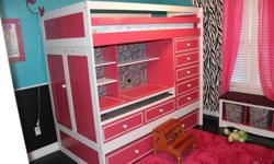 $750 Girls Loft Bed