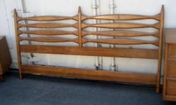 $750 Mid Century Modern Bedroom Set