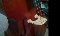$750 OBO 3/4 Stand-up Bass
