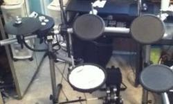 $750 Roland TD-6V Drumset (extras) EXCELLENT CONDITION!