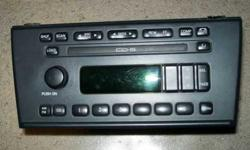 $75 6 Disc In-Dash Radio 2000 2001 2002 Lincoln LS