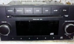 $75 AM/FM CD MP3 Radio Chrysler Jeep Dodge 2007-2012
