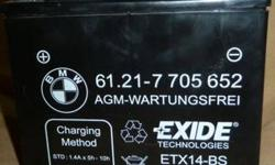 $75 BMW Motorcycle Battery