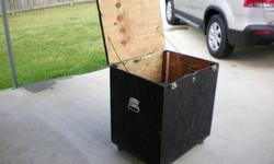 $75 equipment box ( for band or dj )