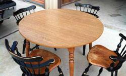 $75 Ethan Allen table and chairs