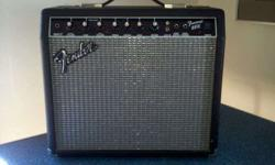 $75 FENDER FRONTMAN 25W Combo Amp LIKE NEW (sell or trade)
