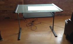$75 Glass Computer Table