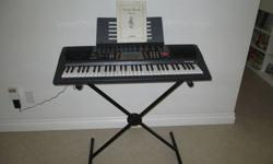 $75 Like New/Clean Casio CTK-518 Keyboard with Stand