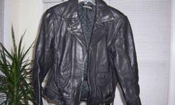 $75 Like new Genuine Leather Harley Davidson Jacket
