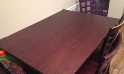 $75 OBO Dining Room Table and Chairs