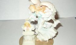 $75 Seraphim Classics Figure Angel W/ Child