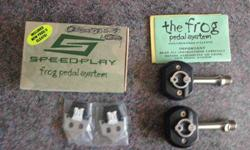 $75 Speedplay Frog Pedals with 60mm Stainless Steel Spindles