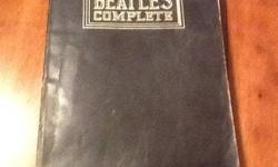 $75 Vintage Beatles Complete Dec 1976 Songbook Warner Bros.