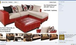 $787.14 Design Your Own Sectional or Sofa and Love Seat Set