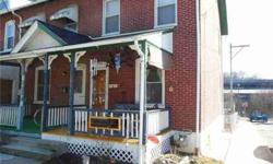 798 Madison St Coatesville, Nicely updated end-unit row home