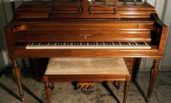 $799 Knabe Console Piano-Free Delivery to 1st Floor in New