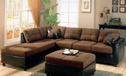 $799 Sectional with free ottoman