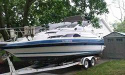 $7,000 1988 24' Bayliner Boat with 350 Chevy Motor & OMC