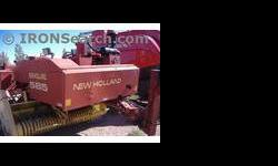 $7,000 1998 New Holland 585 Baler/Square
