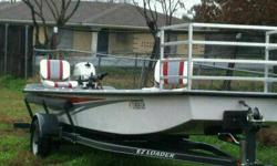 $7,000 22' Fiberglass Flatbottom Boat **PRICE REDUCED**