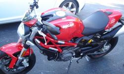 $7,199 OBO 2011 red ducati monster 796 ABS