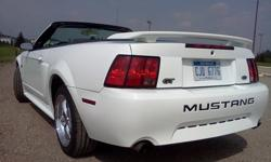 $7,200 2001 V8 Mustang GT Convertible Deluxe