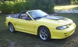 $7,200 OBO 1995 Ford Mustang Cobra 302 convertible