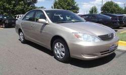 $7,250 2004 Toyota Camry LE