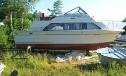 $7,500 1977 33ft Carver Mariner