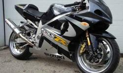 $7,500 2001 GSXR1000R Low miles many extras! LOOK