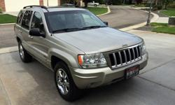 $7,550 2004 Jeep Grand Cherokee Ltd - in excellent condition