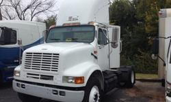 $7,800 2002 International 8100 Single Axle Day Cab For Sale