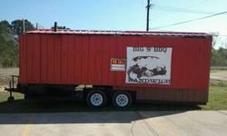 $7,900 BBQ Concession trailer -