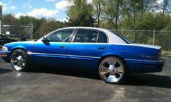 $7,995 1997 buick park ave CUSTON PAINT 22in chrome,stereo -