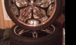 "$800 20"" Rims and Tires ""Velocity v815"""