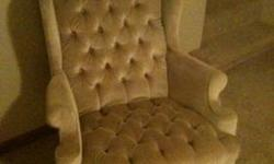 $800 couch love seat wingback chair Hall tree