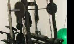 $800 Fitness Gear Ultimate Smith 2 Machine home gym