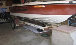 $800 OBO 16' Boat with MerCruiser 140 Engine