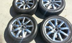 "$800 OBO 18"" Lexus Ls Series Ls460 Ls600 Oem Factory Chrome"
