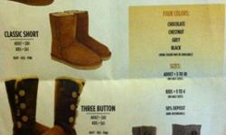 $80 Brand New Ugg Boots Starting at