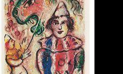 $80 Circus- Chagall - Limited Edition on Canvas