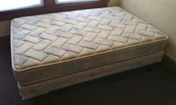 $80 Full Bed, Box Spring & Bed Frame