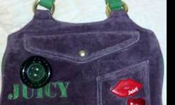 $80 Juicy Couture Authentic Girls Club Dark Purple Velour
