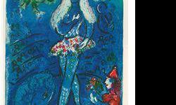 $80 Le Cirque- Chagall - Limited Edition on Canvas