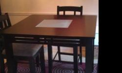 $80 OBO Black dining room table for sale