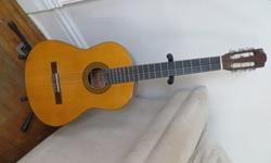 $80 OBO Fender Classical Guitar and Stand